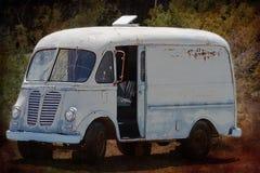 Retired Junk Van Stock Image