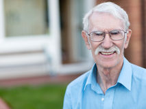 Retired man Royalty Free Stock Images