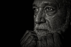 Retired Man Royalty Free Stock Photo
