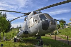 Retired Mil Mi-8 helicopter Stock Photo