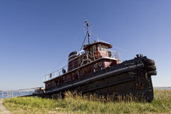 Retired Old Tug Boat Royalty Free Stock Images