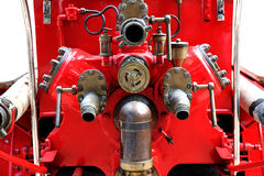A retired piece of fire fighting Stock Image
