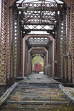 Retired railroad bridge Royalty Free Stock Image