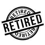 Retired Rubber Stamp Stock Illustration - Image: 86017049