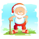 Retired Santa Stock Images