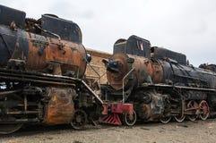 Retired steam locomotive Royalty Free Stock Photo