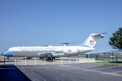 Retired United States Presidential Plane Royalty Free Stock Photo