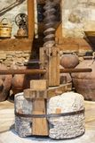 Retired Wine Press Royalty Free Stock Images