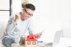 Retirees financial planning concept. Royalty Free Stock Photos