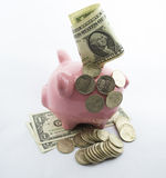 Retirees Retirement coins Account for holidays Stock Photography