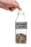Retirement Account Royalty Free Stock Images