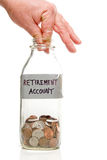 Retirement Account Royalty Free Stock Image
