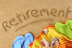 Free Retirement Beach Vacation Concept Stock Images - 51463494