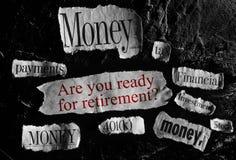 Retirement concept Stock Photo