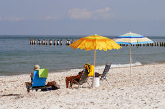 Retirement in Florida Royalty Free Stock Images