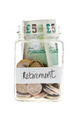 Retirement Fund Royalty Free Stock Photos