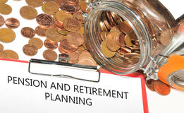 Retirement fund Stock Images