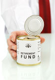 Retirement fund concept Stock Image