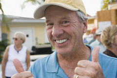 Retirement games Stock Photography