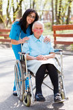 Retirement Home Royalty Free Stock Photos