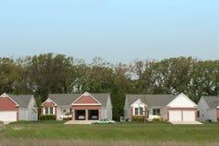 Retirement Housing. Development royalty free stock image