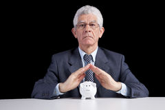 Retirement insurance Royalty Free Stock Photography