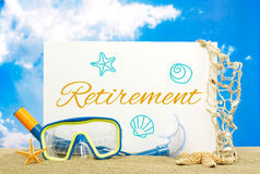 Retirement message board Stock Photography
