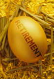 Retirement nest egg royalty free stock images