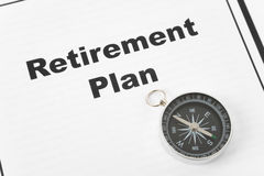 Retirement Plan Royalty Free Stock Photography