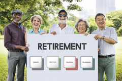 Retirement Plan Budget Investment Concept Stock Images