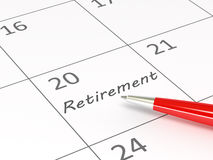 Retirement Plan Royalty Free Stock Photo