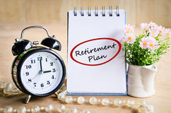Retirement plan concept. Stock Photo