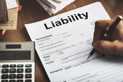 Retirement Plan Loan Liability Tax Form Concept Royalty Free Stock Photos