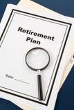 Retirement Plan Stock Photography