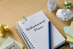 Retirement plan Royalty Free Stock Photos
