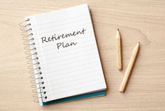 Retirement plan Stock Images