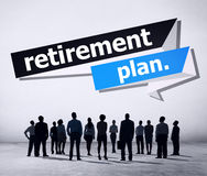 Retirement Plan Retirement Planning Pension Concept Royalty Free Stock Image