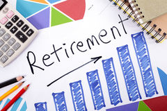 Retirement plan Royalty Free Stock Images