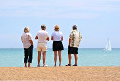 Retirement planning Stock Images