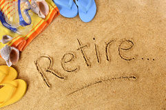 Retirement planning Royalty Free Stock Images