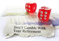 Retirement planning Stock Image