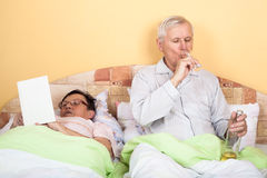 Retirement relax Royalty Free Stock Image