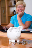 Retirement savings Royalty Free Stock Photography