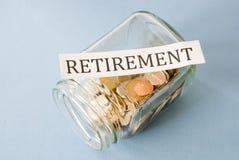 Retirement savings Royalty Free Stock Image