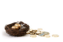 Retirement Savings Concept Royalty Free Stock Photos