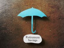 Retirement Savings protection Stock Photography