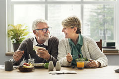 Retirement Senior Couple Lifestyle Living Concept Stock Image