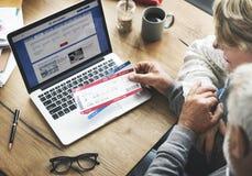 Retirement Senior Couple Lifestyle Living Concept Stock Images