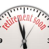 Retirement soon royalty free illustration