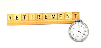 Retirement time Royalty Free Stock Image